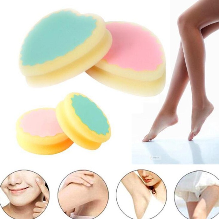 1pc Magic Hair Removal Depilation Sponge Painless Wax Pad Remove Hair Remover Effective Beauty Skin Care Tools