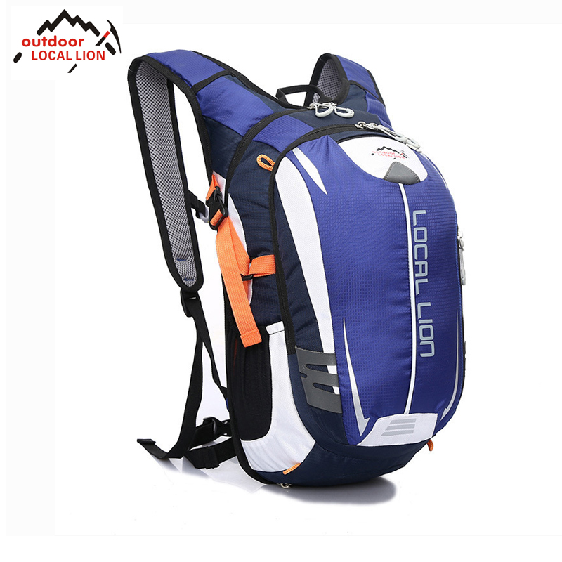 LOCAL LION Riding Backpack MTB Outdoor Equipment 18L Suspension Breathable Outdoor Riding Backpack Riding Bicycle Cycling Bag