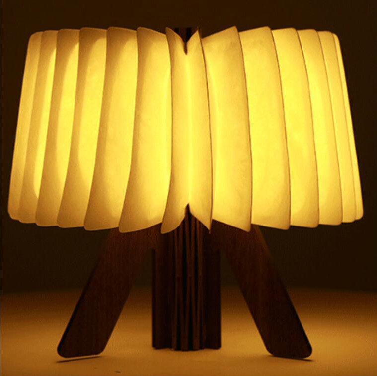 Folding Book Table Lamp Stand Type LED Night Light USB Port Rechargeable for Home Desk Ceiling Cafe Night Mood Lights Decor icoco usb rechargeable led magnetic foldable wooden book lamp night light desk lamp for christmas gift home decor s m l size