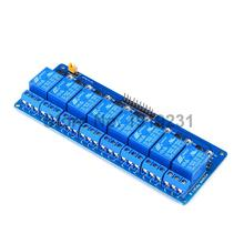 2PCS 8 Channel 5V Relay Module Active Low Board for Arduino PIC AVR MCU DSP NEW