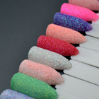 10 Colors Shine Sugar for Nails Rubbing Sugar Powder for Nails Glitter Powder Dust Nail Art Sugar Glitter for Nails SF2058