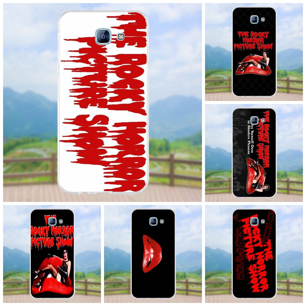 Us 199 Vvcqod Tpu Cases Capa Cover Rocky Horror Wallpaper For Samsung Galaxy A3 A5 A7 J1 J2 J3 J5 J7 2015 2016 2017 In Half Wrapped Cases From