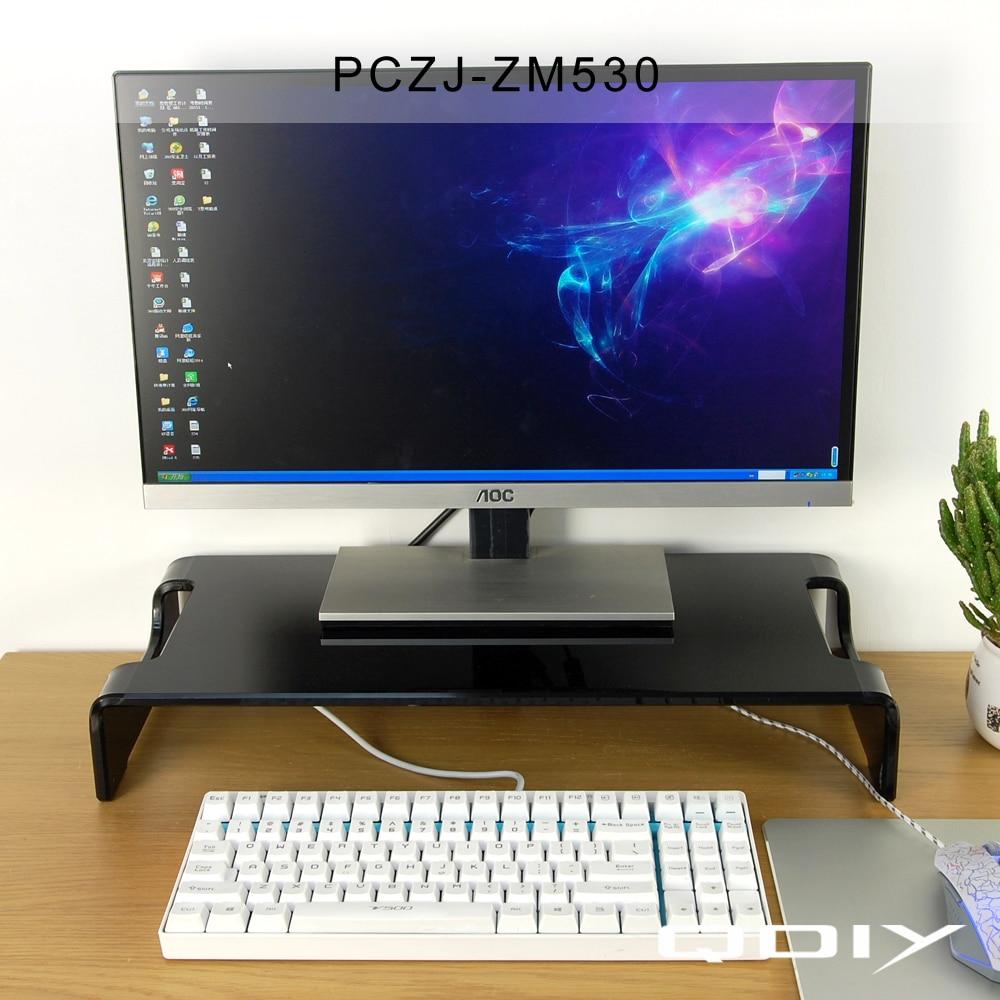 LCD Computer Desktop Display Acryl Halter Heighten Rahmen Tastatur ...