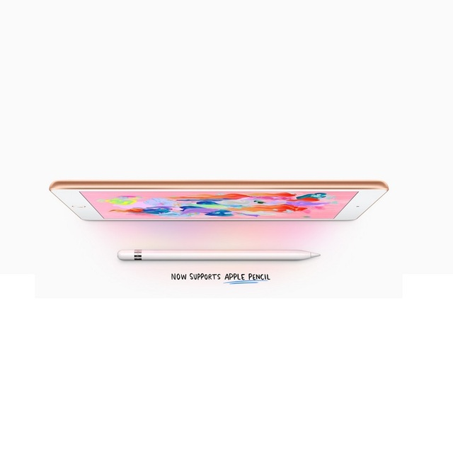 Apple New iPad 9.7 Inch 2018 Model Retina Display 32G WIFI Supporting Apple Pencil With A10 Fusion Chip IOS IPS Screen Original 2