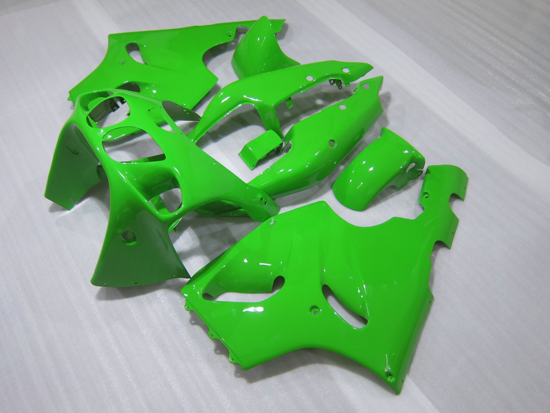 K7603 Green Fairing Kit FOR Kawasaki ZX7R fairing  ZX750 1996 - 2003 96 97 98 99 00 01 02 Ninja ZX 7R