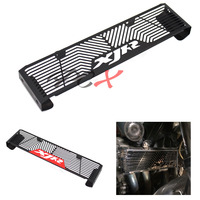 For YAMAHA XJR 1300 XJR1300 1998 2008 Black/Red Black Motorcycle Accessories Radiator Guard Protector Grille Grill Cover