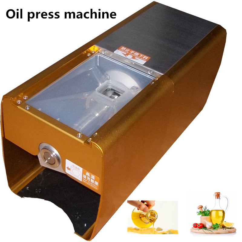 Commercial electric hot and cold stainless steel oil press machine for coconut,sesame
