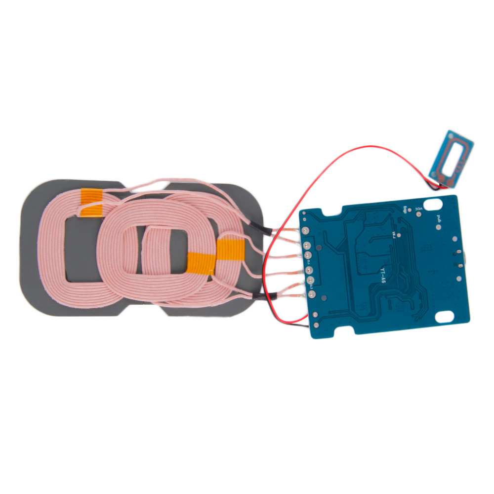 Veeaii Hot Sale Qi Wireless Charger Pcba Circuit Board Coil Mobile Diagram 3 Coils Micro Usb Portard Diy Charging Accessories