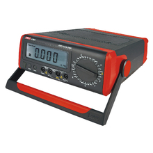 UNI-T Ut801 настольного Типа/Настольный Цифровой Мультиметр с Термометром, ЖК-Дисплей, Удержания данных Автоматический Диапазон Амперметр Multitester