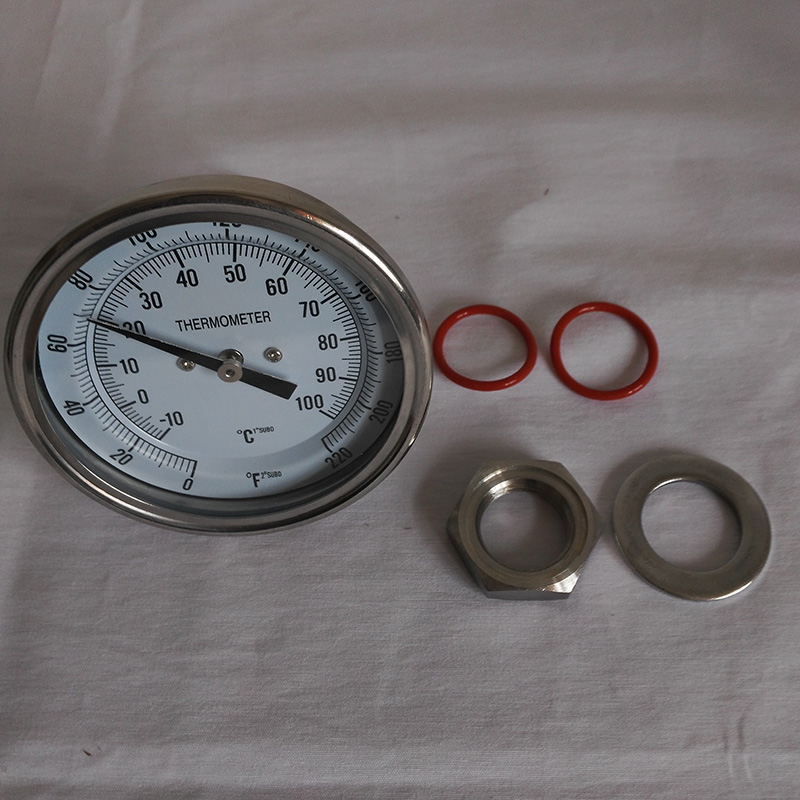 Beer Brew Keg Thermometer Bimetal Thermometer Home Brew Dial 3