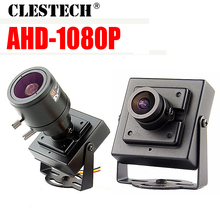 Super Small AHD MINI CCTV camera Sony imx-323 2MP 1080P metal Security Surveillance micro Video monitoring vidicon with bracket