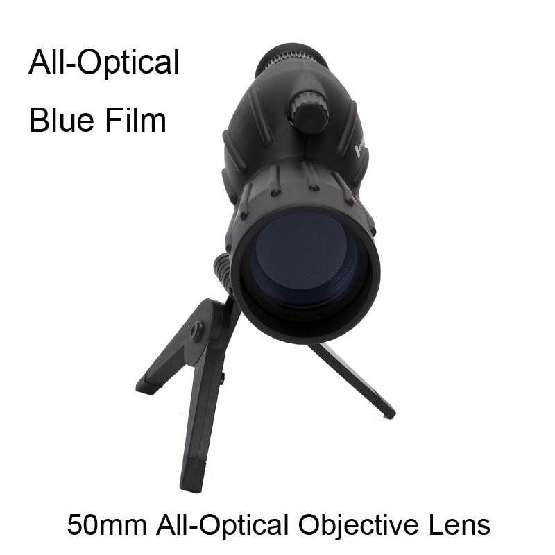 Hot selling 15-40x50 Zoom HD Monocular bird watching Telescope binoculars With Portable Tripod Spotting Scope Blue Coating