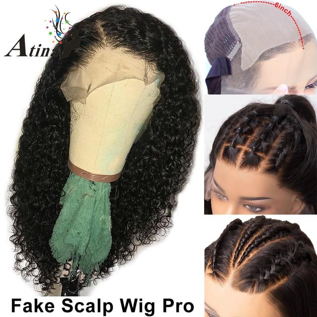 Pelucas de pelo humano Remy de la onda del agua de la peluca Frontal del cordón de 13X6 para las mujeres negras