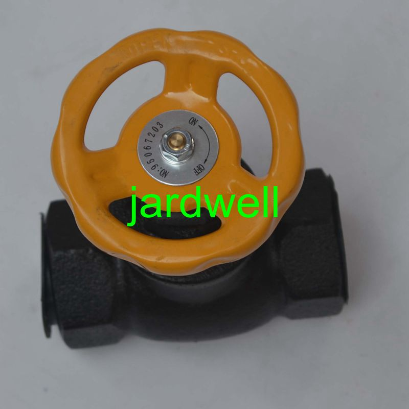 Replacement  parts of air compressor  for Ingersoll Rand Globe valve/shut off valve 95067203 13mm male thread pressure relief valve for air compressor