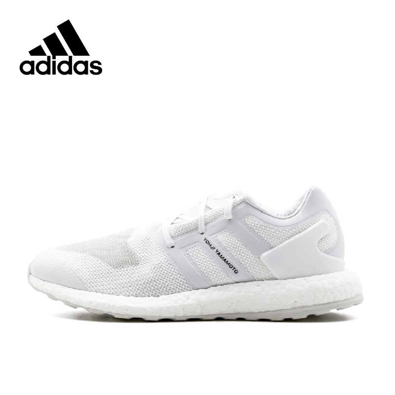 Adidas Offical Y-3 PURE BOOST Breathable New Arrival Men's Running Shoes Sports Sneakers BY8955 adidas new arrival authentic ultra boost uncaged haven breathable men s running shoes sports sneakers by2638