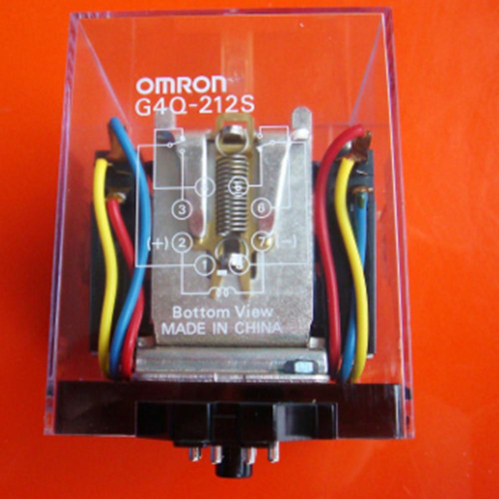 wholesale   10pcs/lot   relay    G4Q-212S