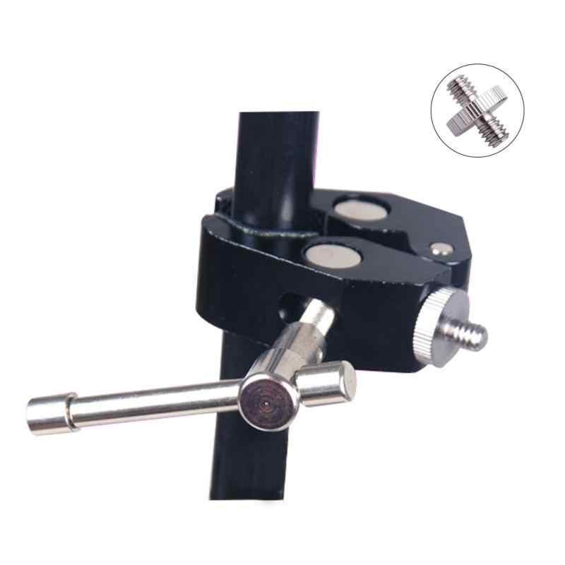 1/4 dönüş 1/4 inç paslanmaz çelik dönüştürücü çift iplik kamera vidası adaptörü kamera destek vidası