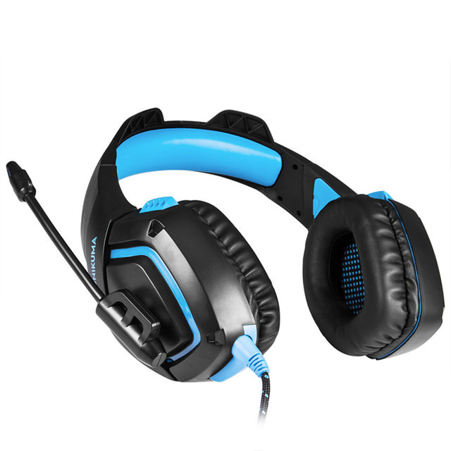 ONIKUMA K1 Casque  PS4 Headset with Microphone Stereo Gaming Headphones for Cell Phone New Xbox One Laptop PC (10)