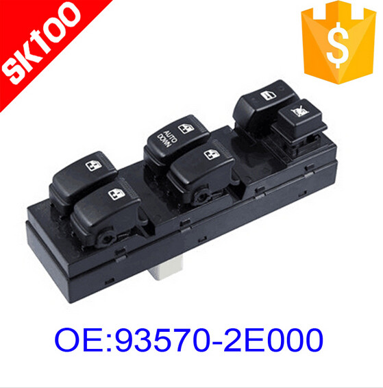 SKTOO 93570-2E000 for hyundai 04-10 Tucson Front Left electricl window switch ,master power control window switch