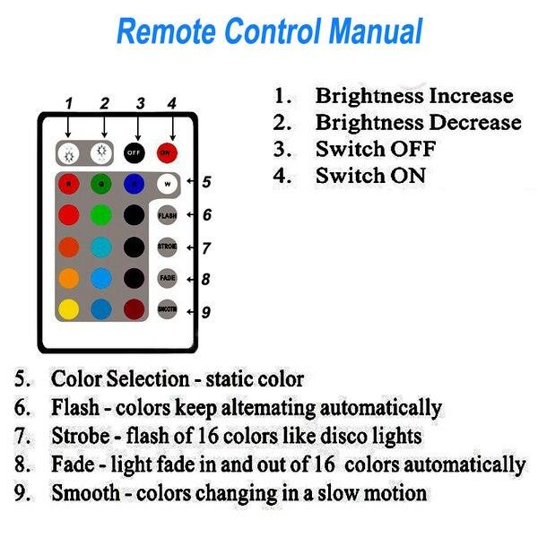 Livraison gratuite rapide lumineux RGB coloré Table de mariage gâteau Table décoration lumineuse LED - 6