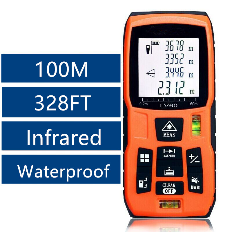 Aeg 100m laser distance measure electric pumps