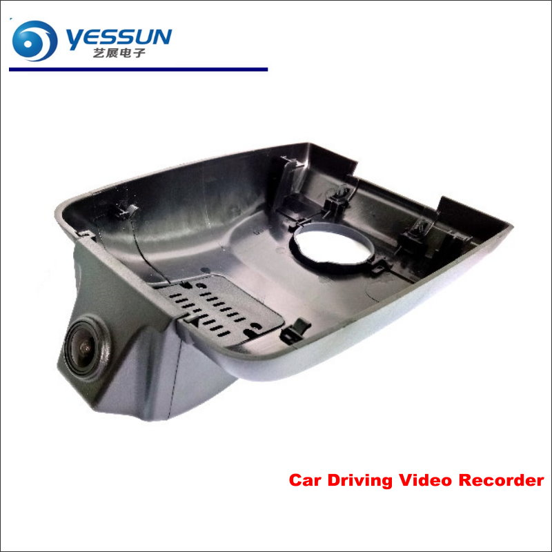 YESSUN Car DVR Driving Video Recorder For Toyota Highlander 2018 Front Camera Black Box Dash Cam Head Up 1080P WIFI цена