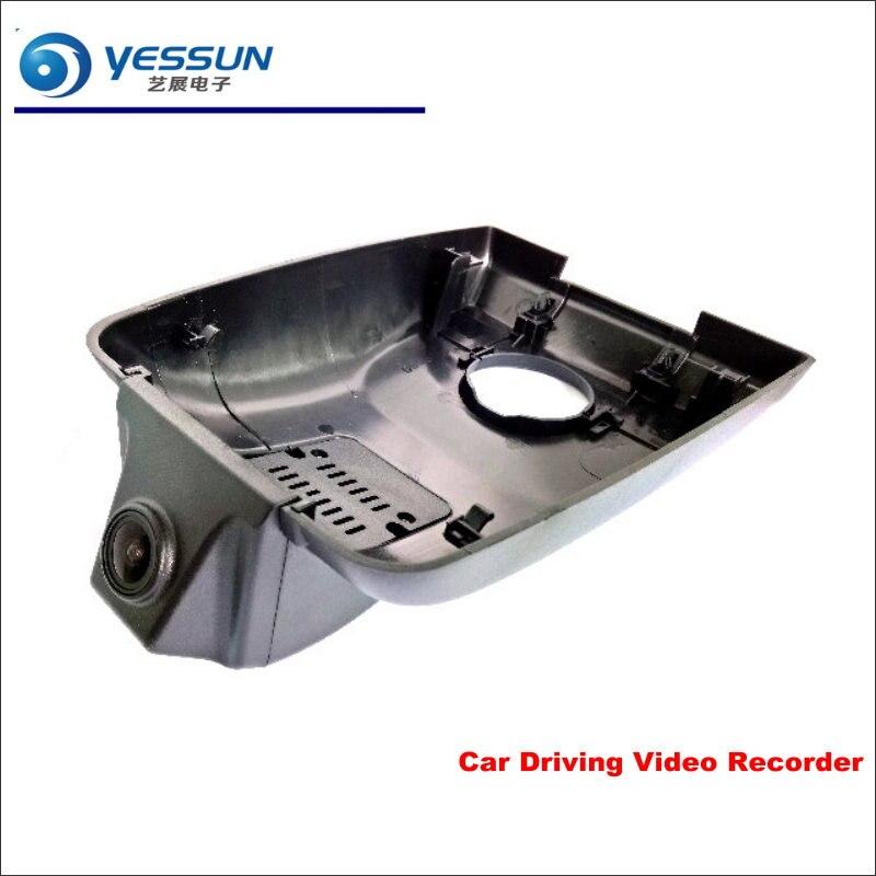 YESSUN voiture DVR conduite enregistreur vidéo pour Toyota Highlander 2018 caméra avant AUTO Dash CAM tête haute 1080 P WIFI