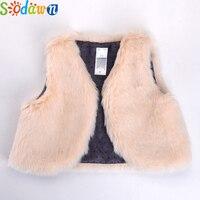 Children S Winter Overcoat Baby Girl Vest Trench Coat Baby Warm Vest Vest Children 100 Cotton