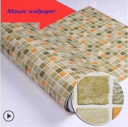 Sticker toilette mobili impermeabile adesivi per for Carta da parati impermeabile per cucina