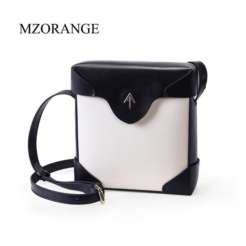 2018 genuine leather Box Arrow bag Women handbag Small Cover Flap Bag Shoulder Bags Cowhide Lady Messenger bags Atelier Turkey