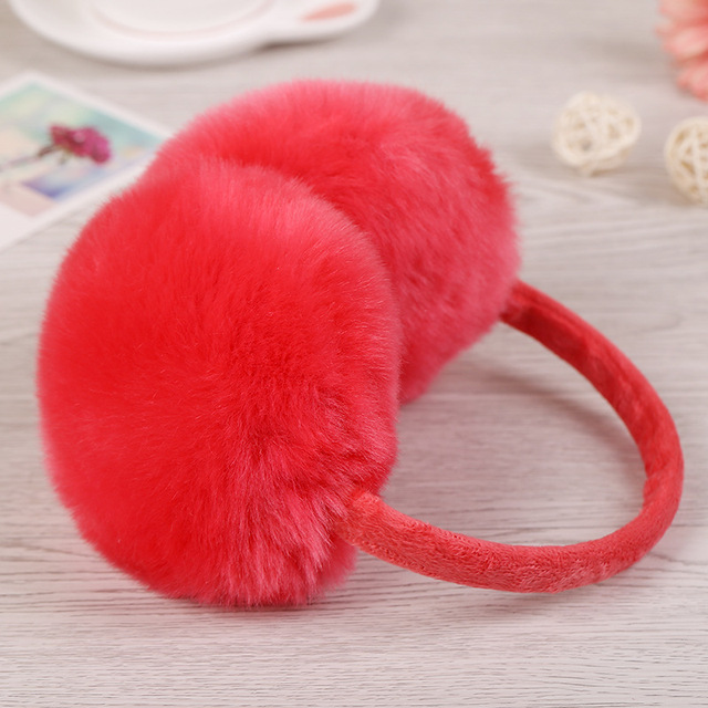 Plush Plain Earmuffs