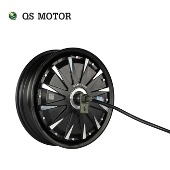 QS Motor 12inch 2000W 260 35H V1 48V Brushless DC Electric Scooter Motorcycle Hub Motor image