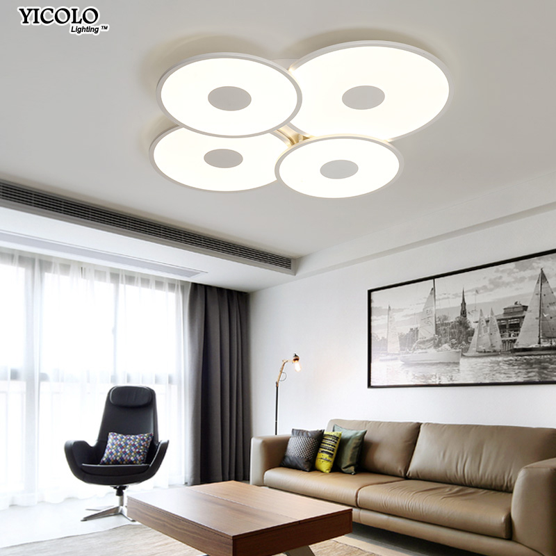 Remote control Dimming Led Ceiling lights lamp For Living room Bedroom Modern Led Ceiling lamps Lighting Fixture deckenleuchte