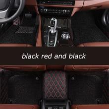 цена на HeXinYan Custom Car Floor Mats for Mercedes Benz all models E C SLK G GLA GLE GL GLS GLC CLA ML GLK CLS S R A B CLK vito viano