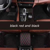 HeXinYan coche personalizado alfombras de piso para Mercedes Benz todos los modelos E C SLK G GLA GLE GL GLS GLC DE LA CIA GLk ml CLS S R A B CLK vito viano
