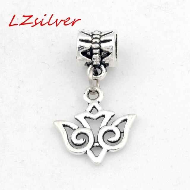 925 Sterling Silver Swallow Bird Dangle Pendant Bead For European Charm Bracelet SSGqFX7o0K