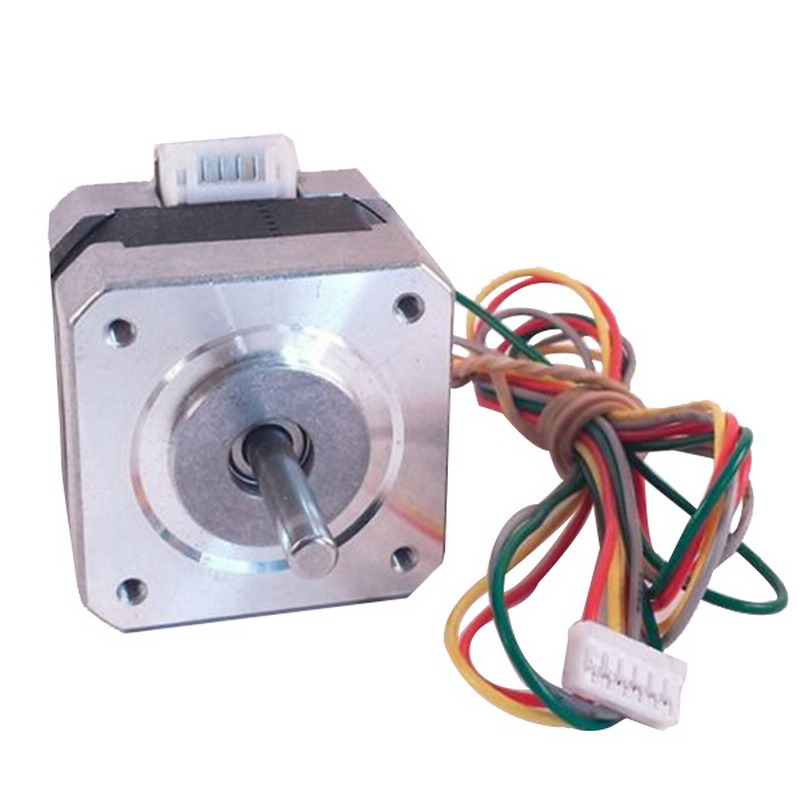 1PC New Nema 17 Stepper Motor 36oz-in/ 2600g/cm 3D Printer For RepRap Medel Prusa 12 V 17 Motor 5pcs nema 14 stepper motor 25 5oz in 18ncm 5 4v 0 8a bipolar 3d printer makerbot 3d printer prusa makerbot reprap cnc robot