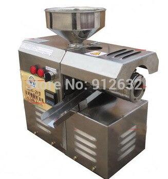 Presseur d'huile de cuisine en acier inoxydable petit presseur d'huile de soja Presserm à froid
