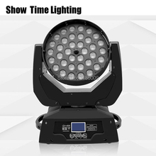 Hot sale 36pcs 10W RGBW 4 IN 1 Led moving head with zoom function big area coloring use for professional stage DJ perfomance