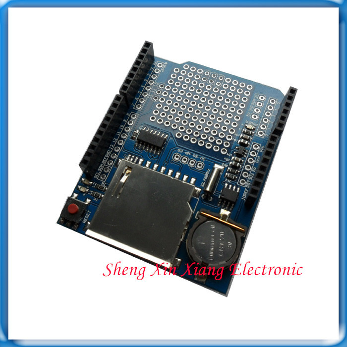 Data logging shield v arduino compatible in other