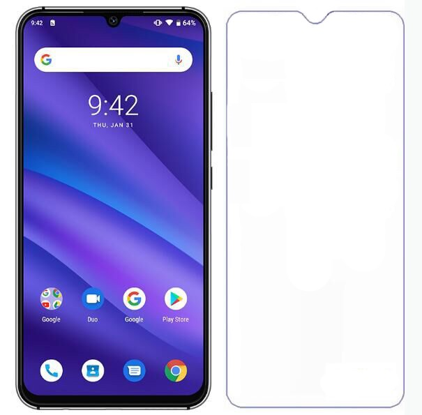 """HD Clear Screen Protector For Umidigi A5 Pro Tempered Glass 9H 2.5D Premium Protective Glass Film For Umidigi A5Pro 6.3"""" Cover"""