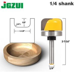 "Image 1 - 1 1/8"" Diameter Bowl & Tray Router Bit   1/4"" Shank"