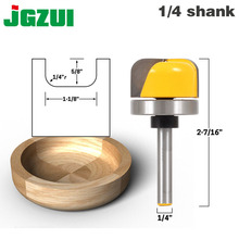 "1 1/8 ""Diameter Kom & Tray Router Bit 1/4"" Shank"