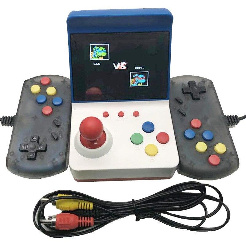 3 pouces 8Bit Portable Rétro Mini Arcade Station De Jeu De Poche Console Intégré 360 Jeux Vidéo Classique Famille TV FC Jeu console