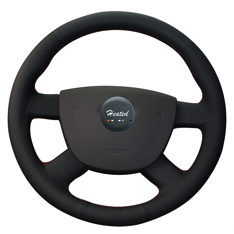 heated car steering wheel cover for ford focus 2 2005 2011. Black Bedroom Furniture Sets. Home Design Ideas