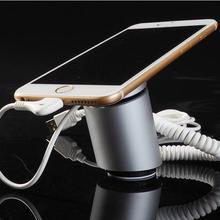 Для безопасности мобильного телефона Противоугонная подставка с функцией сигнализации и зарядки для мобильного телефона розничная для Витрины Магазина