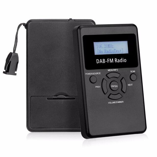 Portable DAB + / DAB Receiver / FM Radio RDS Radio Pocket Digital ...