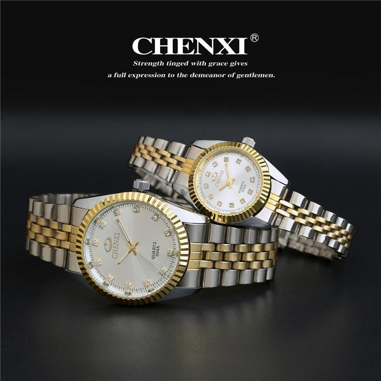 Couples Quartz Watch, Men's & Women's Watches, 30m Waterproof Wristwatches 21