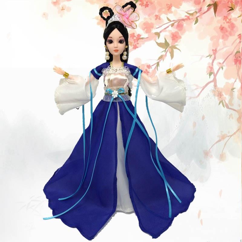 Doll Aksesuarları Cosplay Ənənəvi Çin Qədim Gözəllik - Kuklalar və kuklalar üçün aksesuarlar - Fotoqrafiya 2