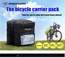Bicycle Frame Back Seat Capacity 55L Waterproof Bike Bag&Double IPouch Cycling For 5.5inch Cell Phone Accessories